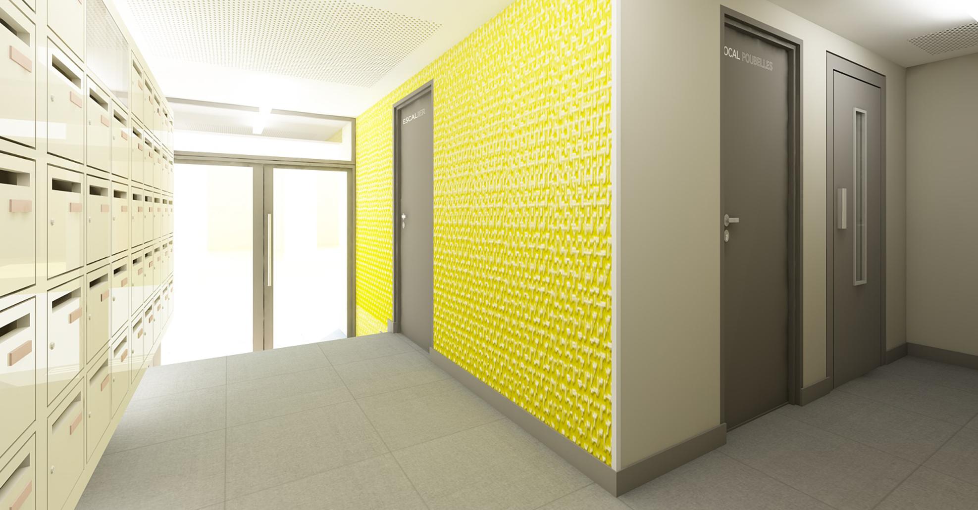 Agence In Mind Architectes D Int 233 Rieur 187 Communs D Un Immeuble 233 Tudiants Paris